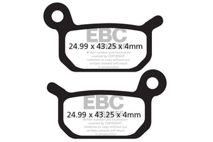 EBC - CFA325 Green Brake Pads