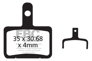 EBC - CFA327 Green Brake Pads