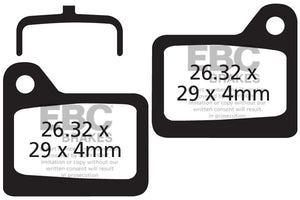 EBC - CFA329 Green Brake Pads