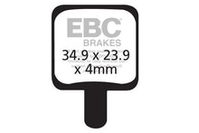 Load image into Gallery viewer, EBC - CFA340 Green Brake Pads