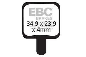 EBC - CFA340 Green Brake Pads
