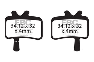 EBC - CFA394 Green Brake Pads