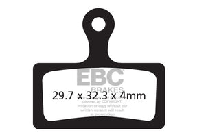 EBC - CFA614 Green Brake Pads