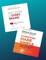 Building and StoryBrand and Marketing Made Simple Books