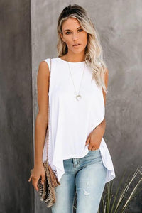 High Low Layering Tank (Choose from Multiple Colors)