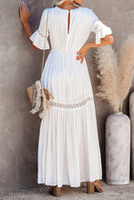 Load image into Gallery viewer, Sophisticated Boho Lace Maxi