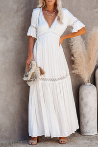 Sophisticated Boho Lace Maxi