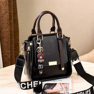 Fashion PU Leather HandBag/ Shoulder/Messenger/Crossbody/Tote Bag - Bags International Style