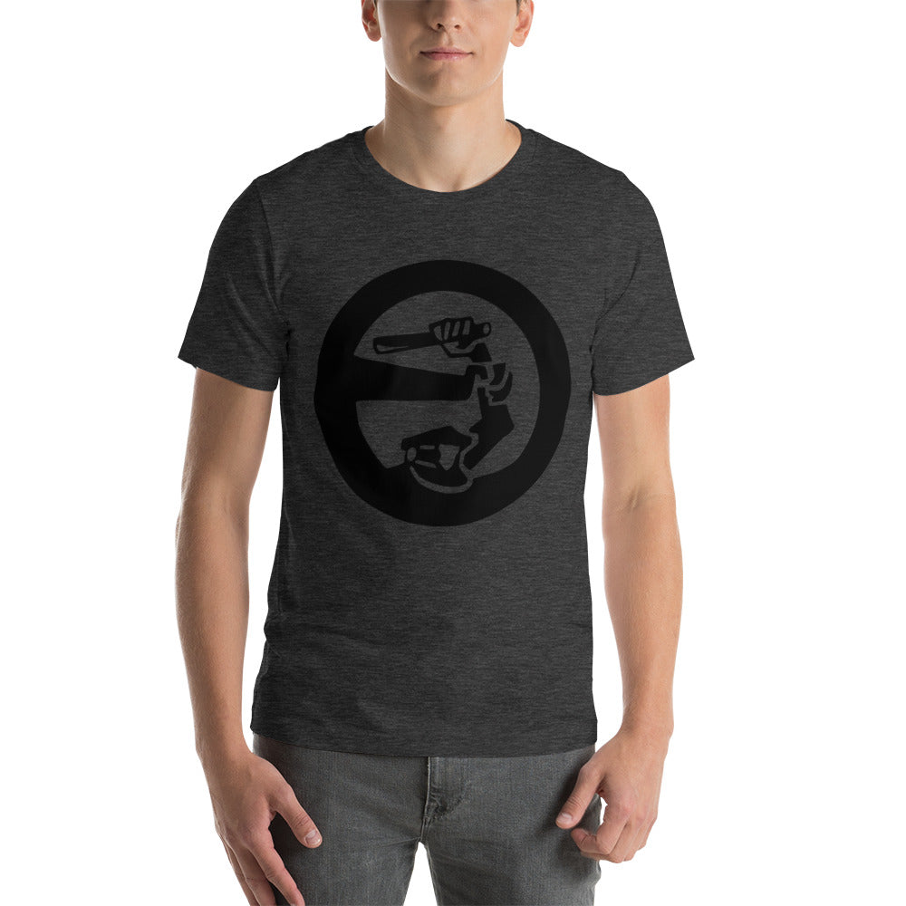 "Outspoken-Designs ""Stop Police Brutality"" Short-Sleeve Unisex T-Shirt"