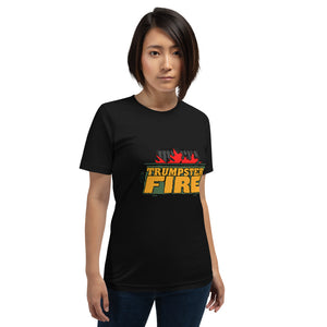 "Outspoken-designs ""Trumpster Fire"" Short-Sleeve Unisex T-Shirt"