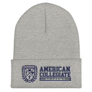 American Collegiate Academy Cuffed Beanie by Outspoken-Designs