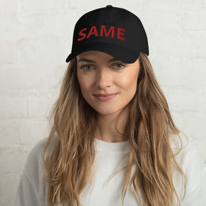 Outspoken-Designs We are the SAME equality for all hat