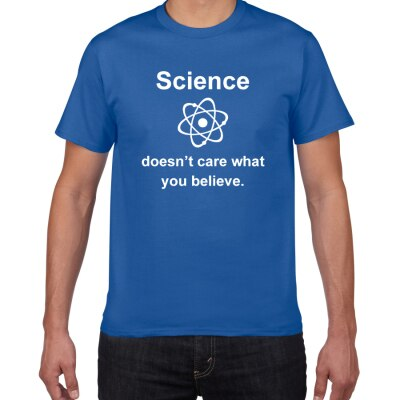 Science Doesn't Care What You Believe in Sarcastic Funny T-Shirt