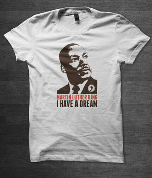 Martin Luther King T Shirt Malcolm X Civil Rights Ghandi Nelson Mandela