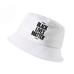 Black Lives Matter Slogan bucket hat