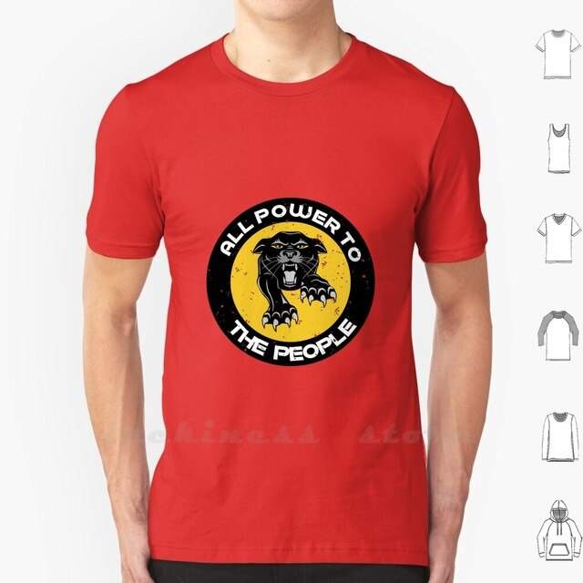 All Power To The People Panthers Party Civil Rights T Shirt