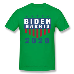 Men Joe Biden Declared Kamala Harris As Vice President T-Shirts Funny Tops Vice President 2020 Pure Cotton Tees Harajuku TShirt