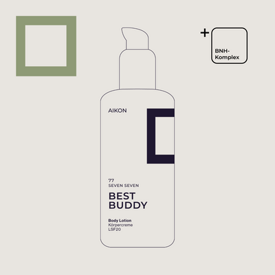 Bodylotion Illustration mit BNH Komplex