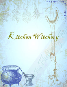 Kitchen Witch Set (Four Pages)