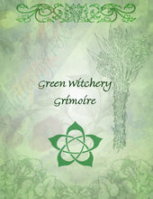 Load image into Gallery viewer, Green Witch Set (Four Pages)