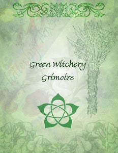 Green Witch Set (Four Pages)