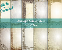 Load image into Gallery viewer, Antiqued Blank Paper Bundle