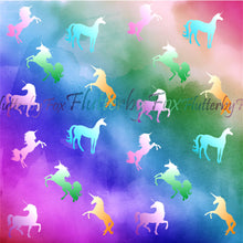 Load image into Gallery viewer, Unicorn Scrapbook Paper Set