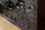 j0842.黒庄内衣装箪笥【 SHONAI CLOTHING CHEST】