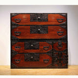 j0815.佐渡衣裳箪笥 【 SADO TANSU CLOTHING CHEST 】
