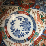 p0296 古伊万里色絵鉢二客【A set of two big bowls of old Imari】