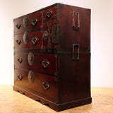 j0883.米沢桜紋衣装箪笥【 YONEZAWA CLOTHING CHEST 】