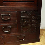 j0894. 美濃帳場箪笥 【 Mino merchant chest  】