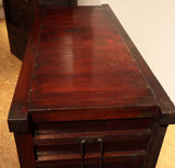 j0913 米沢帳場箪笥 【 YONEZAWA MERCHANT CHEST 】