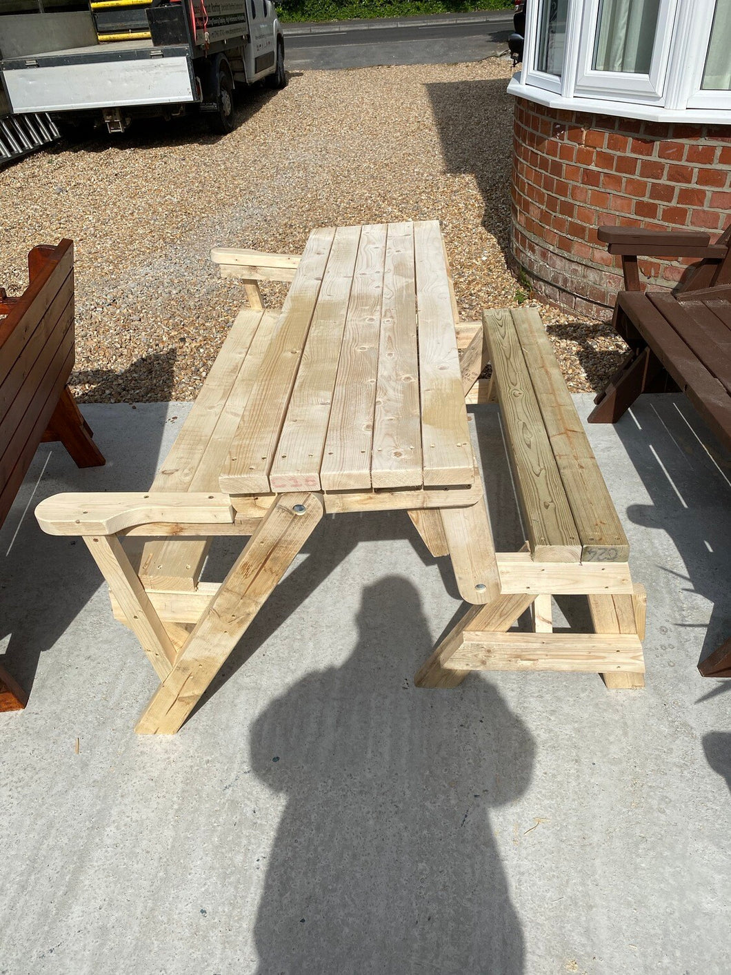 Transforming Bench/Picnic Table