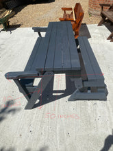 Load image into Gallery viewer, Transforming Bench/Picnic Table