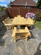 Load image into Gallery viewer, Complete Garden Dining Set