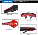 DRBIKE Bike Seat Fit for Mountain Bike and Road Bike