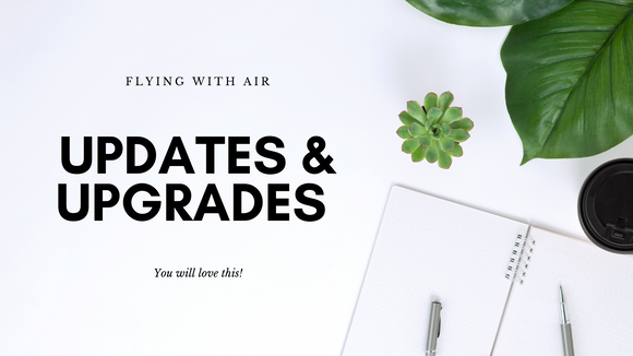 Amazing new changes for the flying with Air brand and website