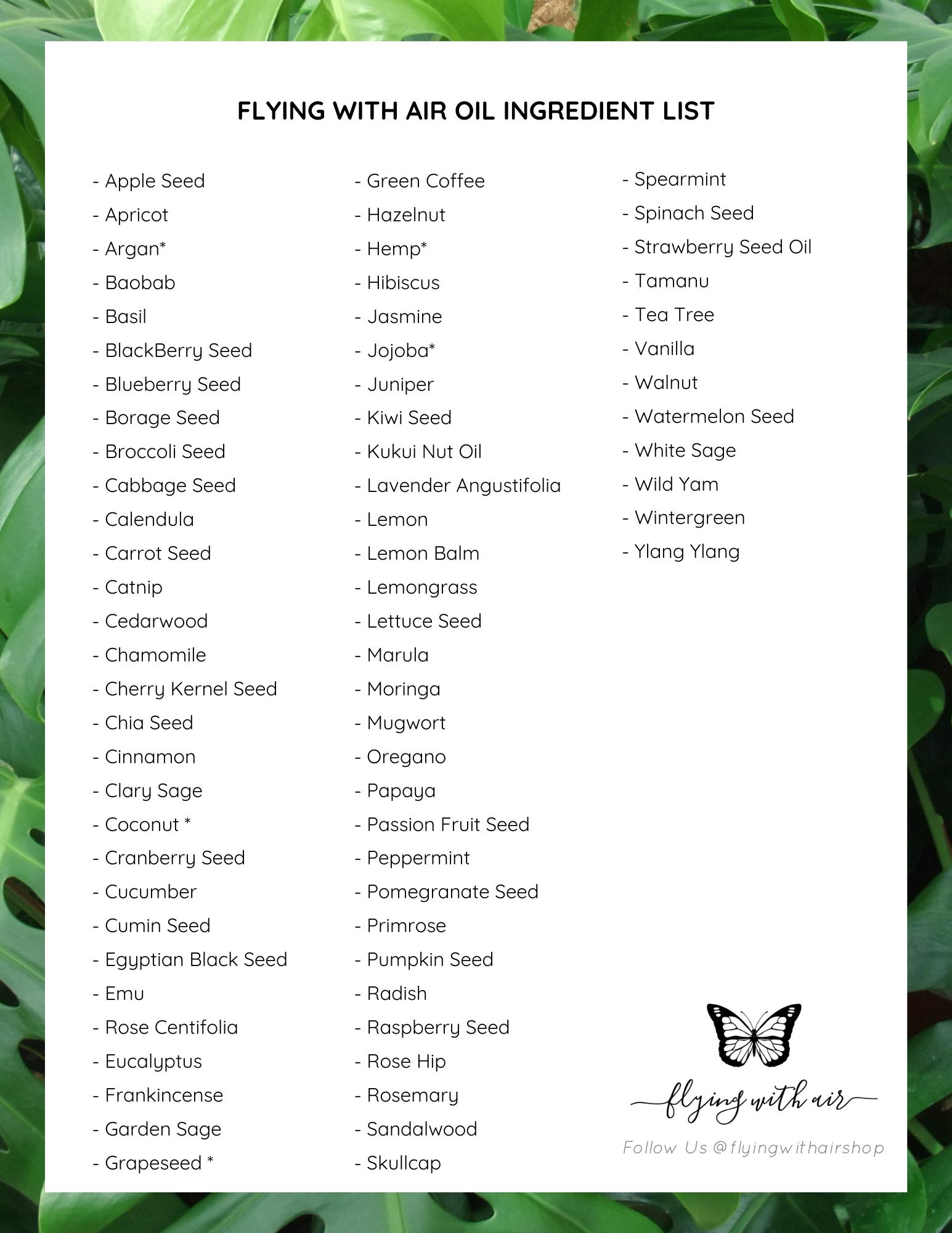 customized curated essential oil blends
