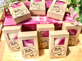 Hand Crafted Organic Herbal Soap Gift Set - Fast Free Shipping Pack of 2 3 5 | Hippie Bohemian Birthday Mother's Day Christmas Gift for Her