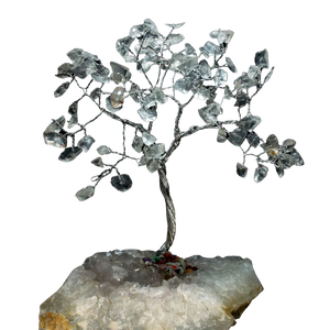 clear quartz crystal tree