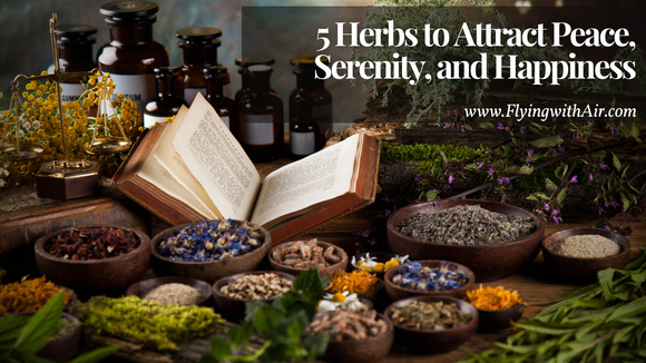 Peace & Serenity Herbs (Live Online)