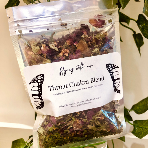 Throat Chakra Herbal Blend