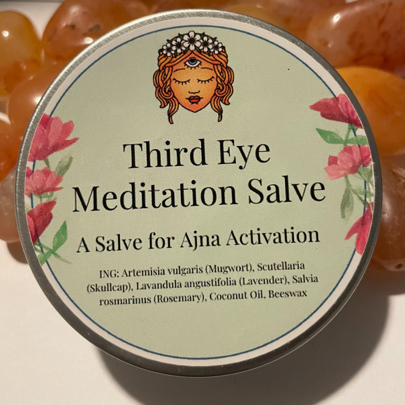 Third Eye Ajna Meditation Salve