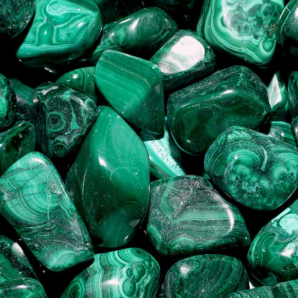 Malachite Tumbled Crystal