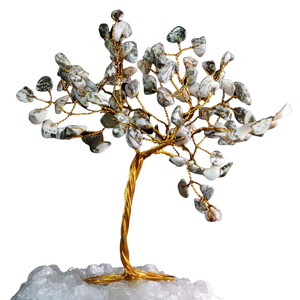 tree agate crystal tree