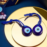 Evil Eye Hanging Blue Rope Charm
