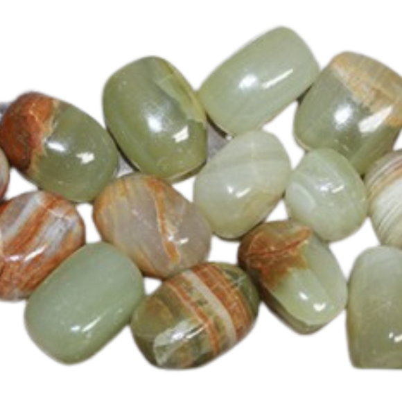 Calcite Green Polished Tumbled Crystal