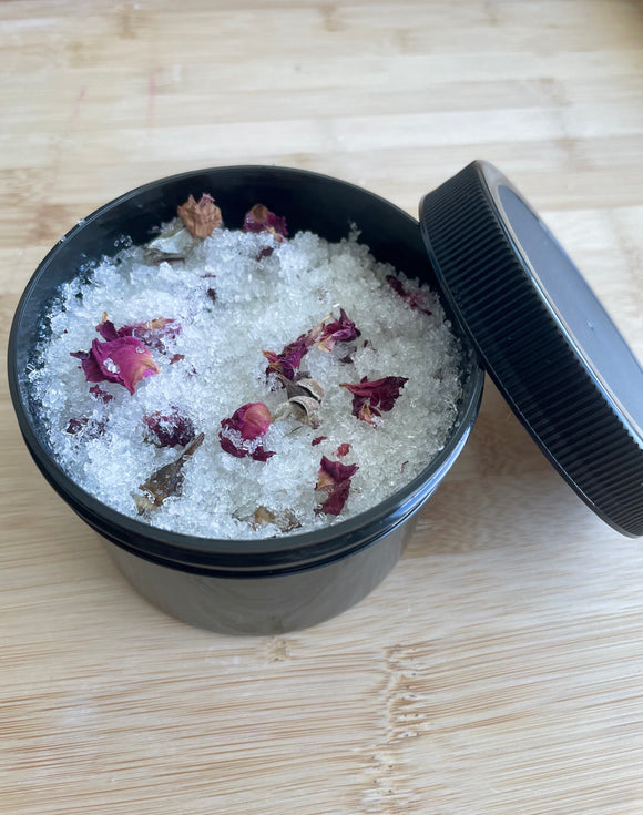 Dead Sea Salt Rose Scrub