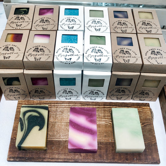 Sampler Herbal Soap Set